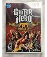 Wii GUITAR HERO: AEROSMITH Nintendo Wii 2008 - $19.75