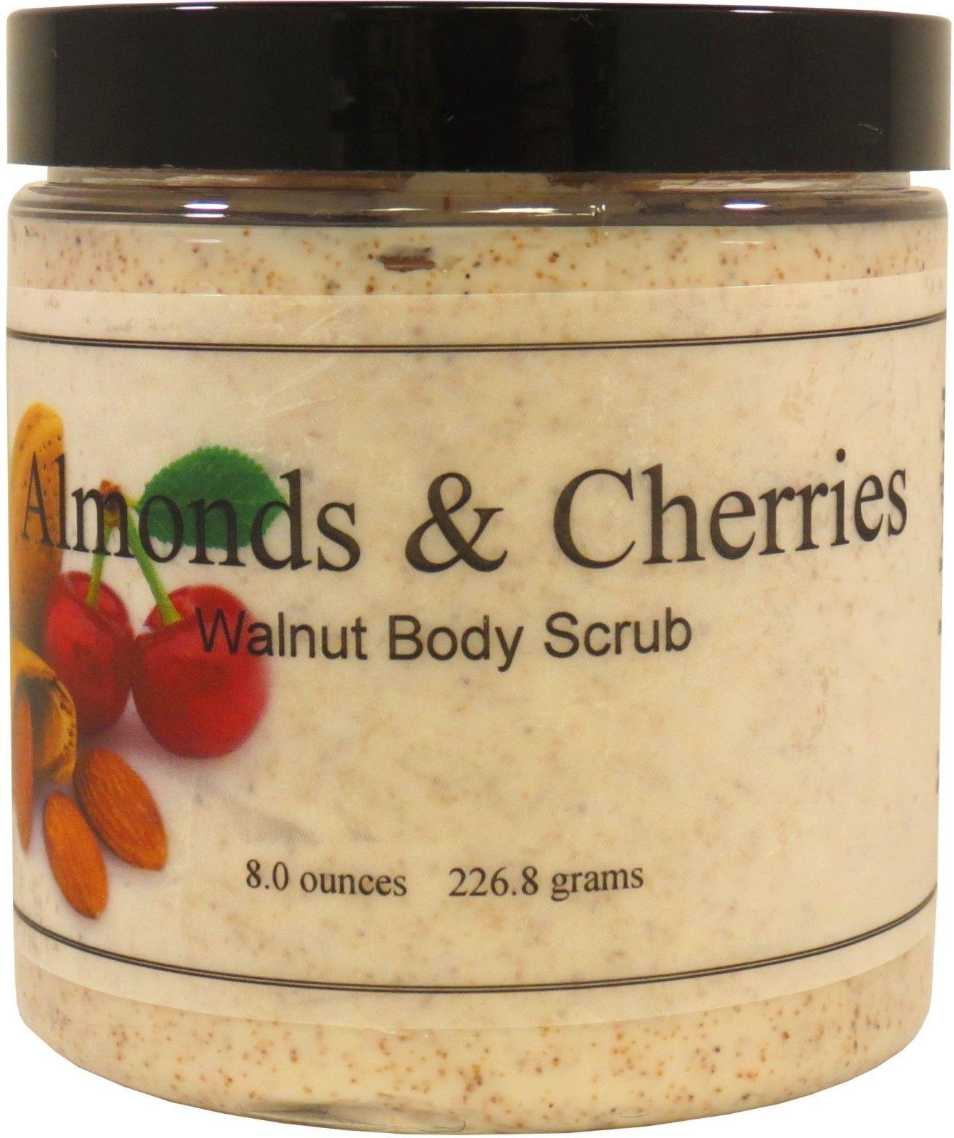 Almonds And Cherries Walnut Body Scrub