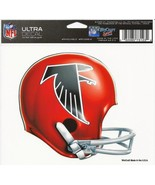 NFL Atlanta Falcons Retro Helmet Logo Wincraft Multi-Use Ultra Decal Cli... - $6.95
