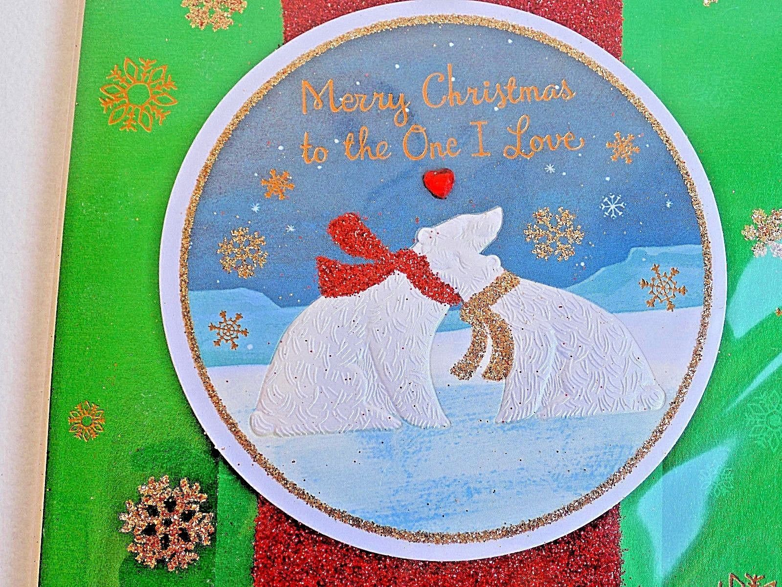 Merry Christmas to The One I Love Polar Bears American Greetings Christmas Card