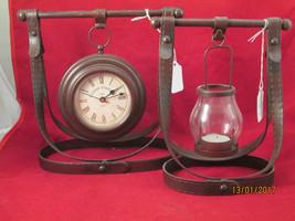 Nice Clock and Tealight Set - £15.14 GBP+