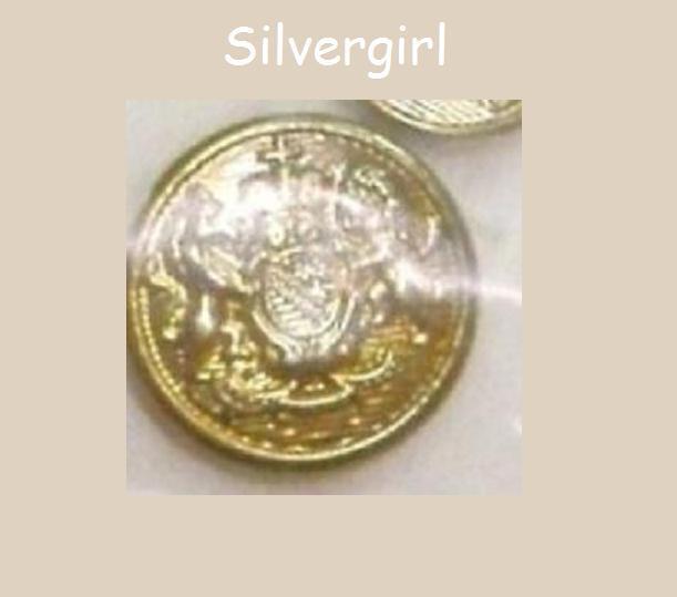 """5/8, 7/8"""" Vintage Metal Crest Buttons Horse Lion Crown"""