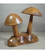 Vtg Mid Century Mushroom Appetizer Pick Holder ... - $23.99