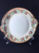 Mid Century Hand Painted Porcelain Grape Orange Gilt Serving Collectors ... - $26.75