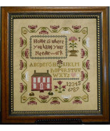 Home Is Where You Hang Your Needlework cross stitch chart Abby Rose Designs - $9.00