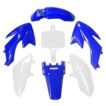 Lumix GC Blue White Fairing Body Plastic Kit For 50cc Honda CRF50 XR50 Dirt P... - $32.95