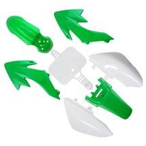 Lumix GC Green White Fairing Body Plastic Kit For 49cc 50cc 70cc 90cc 110cc 1... - $34.95