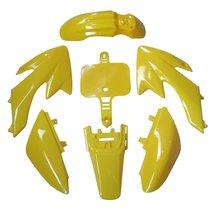 Lumix GC Yellow Fairing Body Plastic Kit For 49cc 50cc 70cc 90cc 110cc 125cc ... - $34.95