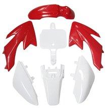 Lumix GC Red White Fairing Body Plastic Kit For 50cc Honda CRF50 XR50 Dirt Pi... - $32.95