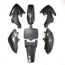 Lumix GC Carbon Plastic Fairing Body Work Kit For 50cc Honda CRF50 XR50 Dirt ... - $34.95