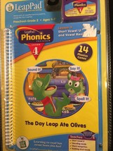 LeapFrog LeapPad The Day Leap Ate Olives Phonic... - $9.49