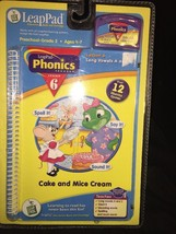 LeapFrog LeapPad Cake and Mice Cream Phonics Pr... - $9.49
