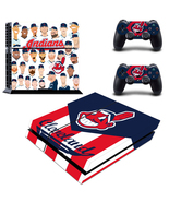 PS4 Console Skin MLB Cleveland Indians VInyl Decal Stickers for PS4 Play... - $12.00