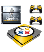 PS4 Console Skin NFL Pittsburgh Steelers VInyl ... - $12.00
