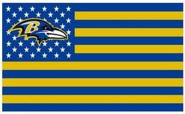 NFL Baltimore Ravens Stars & Stripes 3'x5' Indoor/Outdoor Team Nation Fl... - $9.99