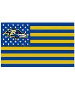 Avens usa football flag nfl stars and stripes flag 120g 90x150cm polyester banner 100d thumbtall
