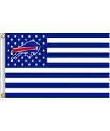 NFL Buffalo Bills Stars & Stripes 3'x5' Indoor/Outdoor Team Nation Flag ... - $9.99