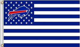 NFL Buffalo Bills Stars & Stripes 3'x5' Indoor/Outdoor Team Nation Flag ... - $9.99