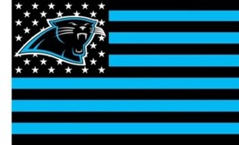 NFL Carolina Panthers Stars & Stripes 3'x5' Indoor/Outdoor Team Nation F... - $9.99