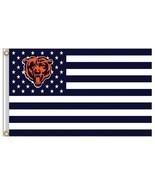 NFL Chicago Bears Stars & Stripes 3'x5' Indoor/Outdoor Team Nation Flag ... - $9.99