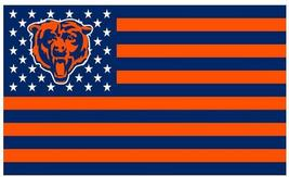 NFL Chicago Bears Stars & Stripes 3'x5' Indoor/Outdoor Team Nation Flag ... - $9.99