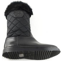 Tory Burch Joey Fur Trim Quilted Winter Boots Women's Size 5 - $336.59