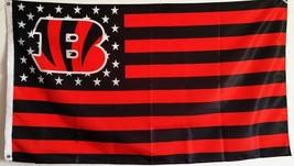 NFL Cincinnati Bengals Stars & Stripes 3'x5' Indoor/Outdoor Team Nation ... - $9.99