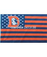 NFL Denver Broncos Retro Stars & Stripes 3'x5' Indoor/Outdoor Team Natio... - $9.99
