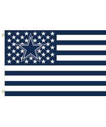 NFL Dallas Cowboys Stars & Stripes 3'x5' Indoor/Outdoor Team Nation Flag... - $9.99