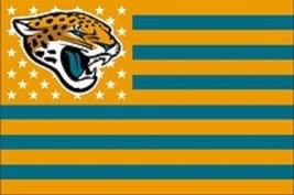 NFL Jacksonville Jaguars Stars & Stripes 3'x5' Indoor/Outdoor Team Natio... - $9.99