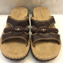 Sandals Womens Lower Slides Brown Size Traction Comfort Side 7 Vegan East Soles EFwwqZA
