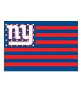 NFL New York Giants Stars & Stripes 3'x5' Indoor/Outdoor Team Nation Fla... - $9.99