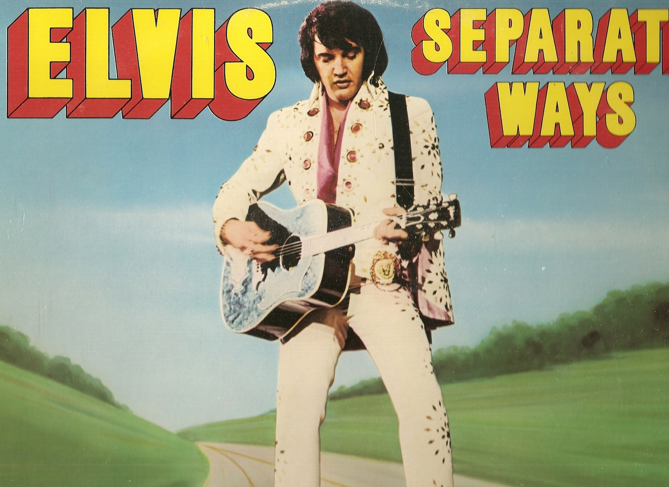LP--Elvis Presley 	-	 Seperate Ways