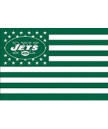 NFL New York Jets Stars & Stripes 3'x5' Indoor/Outdoor Team Nation Flag ... - $9.99