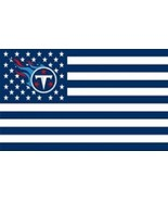 NFL Tennessee Titans Stars & Stripes 3'x5' Indoor/Outdoor Team Nation Fl... - $9.99