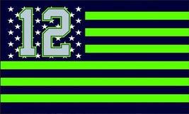 NFL Seattle Seahawks Stars & Stripes 3'x5' Indoor/Outdoor Team Nation Fl... - $9.99