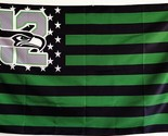 Seattle font b seahawks b font 12 usa star stripe nfl premium team football font b thumb155 crop