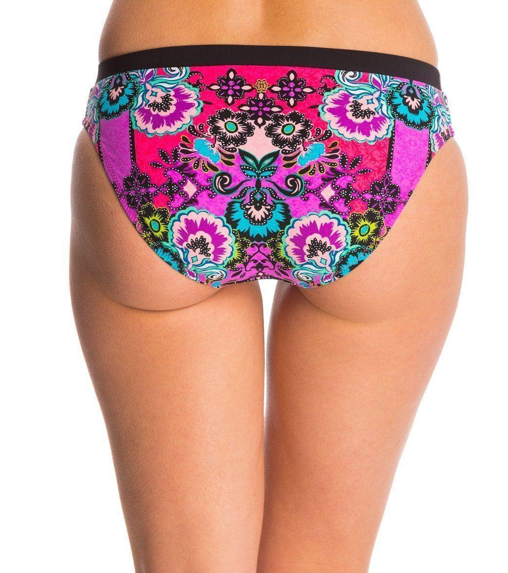Anthropologie Nanette Lepore Bollywood Vamp L 10-12 String Bikini Bottom $84 NWT