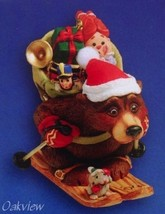 Hallmark 2004 Downhill Delivery NIB Nick and Christopher Skiing Ornament - $8.95