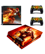 PS4 Skin & Controller DC Comic The Flash VInyl ... - $12.00