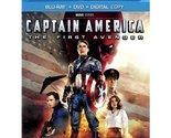 Captain America: The First Avenger (Blu-ray + DVD + Digital Copy) (Widescreen)