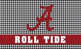 NCAA Alabama Crimson Tide Gray Digital 3'x5' Indoor/Outdoor Roll Tide Flag - $14.95