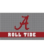 NCAA Alabama Crimson Tide Gray Digital 3'x5' Indoor/Outdoor Roll Tide Flag - $14.95