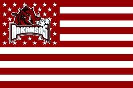 NCAA Arkansas Razorbacks Stars & Stripes 3'x5' Indoor/Outdoor Team Natio... - $9.99