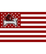 NCAA Arkansas Razorbacks Stars & Stripes 3'x5' Indoor/Outdoor Team Natio... - $9.99