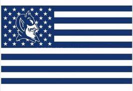 NCAA Duke Blue Devils Stars & Stripes 3'x5' Indoor/Outdoor Team Nation F... - $9.99