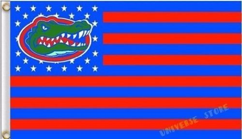 NCAA Florida Gators Stars & Stripes 3'x5' Indoor/Outdoor Team Nation Flag Red/Bl
