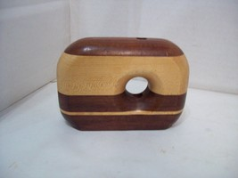 Wooden Pencil Holder, Paper Weight, Desk Accessory, Free Shipping D5 - $13.85