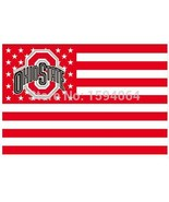 NCAA Ohio State Buckeyes Stars & Stripes 3'x5' Indoor/Outdoor Team Natio... - $9.99