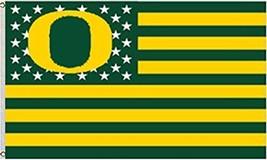 NCAA Oregon Ducks Stars & Stripes 3'x5' Indoor/Outdoor Team Nation Flag ... - $9.99